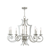 Livex 41008-05 Aldrich 8 Light 33 inch Polished Chrome Chandelier Ceiling Light