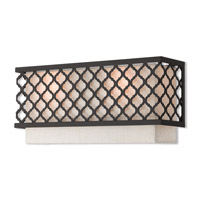 Livex 41119-92 Arabesque 2 Light 16 inch English Bronze ADA Wall Sconce Wall Light