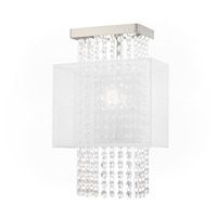 Livex 41128-91 Bella Vista 1 Light 9 inch Brushed Nickel ADA Wall Sconce Wall Light