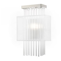 Livex 41140-91 Alexis 1 Light 9 inch Brushed Nickel ADA Wall Sconce Wall Light photo thumbnail