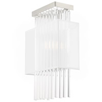 Livex 41140-91 Alexis 1 Light 9 inch Brushed Nickel ADA Wall Sconce Wall Light alternative photo thumbnail