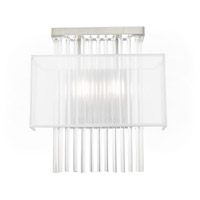 Livex 41148-91 Alexis 2 Light 13 inch Brushed Nickel ADA Wall Sconce Wall Light alternative photo thumbnail