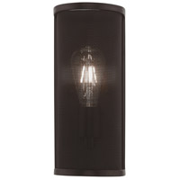 Livex 41209-07 Braddock 1 Light 5 inch Bronze ADA Wall Sconce Wall Light