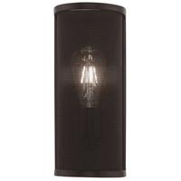 Livex 41209-07 Braddock 1 Light 5 inch Bronze ADA Wall Sconce Wall Light