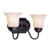 Livex Lighting Home Basics 2 Light Bath Light in Bronze 4142-07