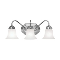 Livex Lighting Home Basics 3 Light Bath Light in Brushed Nickel 4143-91