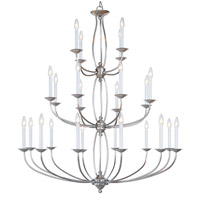 Home Basics 24 Light 42 inch Brushed Nickel Chandelier Ceiling Light