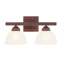 Livex Lighting Somerset 2 Light Bath Light in Vintage Bronze 4202-70