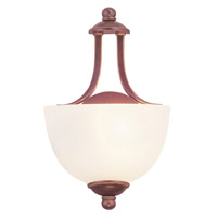 Livex Lighting Somerset 1 Light Wall Sconce in Vintage Bronze 4220-70