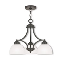Livex 4223-92 Somerset 3 Light 20 inch English Bronze Dinette Chandelier Ceiling Light