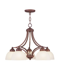 Livex Lighting Somerset 5 Light Chandelier in Vintage Bronze 4225-70