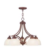 Livex Lighting Somerset 5 Light Chandelier in Vintage Bronze 4225-70 photo thumbnail
