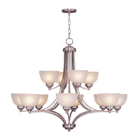 Livex Lighting Somerset 12 Light Chandelier in Brushed Nickel 4228-91 alternative photo thumbnail