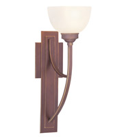 Livex Lighting Somerset 1 Light Wall Sconce in Vintage Bronze 4230-70