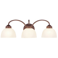 Livex Lighting Somerset 3 Light Bath Light in Vintage Bronze 4233-70