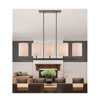 Livex 42428-07 Hayworth 5 Light 49 inch Bronze Linear Chandelier Ceiling Light alternative photo thumbnail