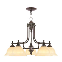 Livex Lighting North Port 5 Light Chandelier in Olde Bronze 4255-67