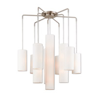 Strathmore 13 Light 45 inch Brushed Nickel Foyer Chandelier Ceiling Light
