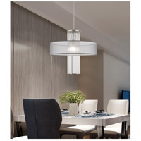 Livex 42804-91 Alexis 1 Light 20 inch Brushed Nickel Pendant Chandelier Ceiling Light alternative photo thumbnail