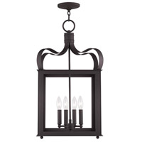 Livex Lighting Garfield 4 Light Foyer Pendant in Bronze 4314-07