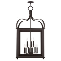 Livex Garfield 9 Light Lantern in Bronze 43180-07