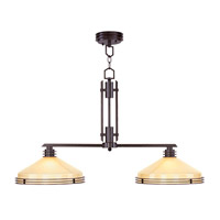 Matrix 2 Light 14 inch Olde Bronze Chandelier Ceiling Light in Iced Champagne