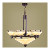 Livex Lighting Matrix 9 Light Chandelier in Olde Bronze 4356-67