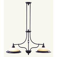 Livex Lighting Belle Meade 2 Light Chandelier in Bronze 4372-07