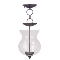 Livex 4392-07 Legacy 2 Light 8 inch Bronze Pendant/Ceiling Mount Ceiling Light