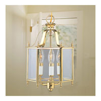 Livex Lighting Home Basics 3 Light Pendant/Ceiling Mount in Polished Brass 4403-02