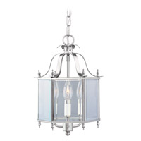 Livex Lighting Home Basics 3 Light Pendant/Ceiling Mount in Brushed Nickel 4403-91