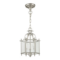 Livex 4403-91 Home Basics 3 Light 10 inch Brushed Nickel Pendant/Ceiling Mount Ceiling Light alternative photo thumbnail