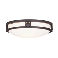 Livex Lighting Signature 2 Light Ceiling Mount in Bronze 4487-07
