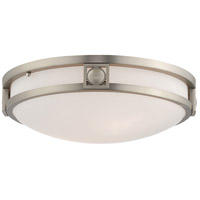 Matrix 2 Light 13 inch Brushed Nickel Ceiling Mount Ceiling Light