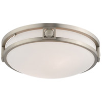Livex 4487-91 Matrix 2 Light 13 inch Brushed Nickel Ceiling Mount Ceiling Light alternative photo thumbnail