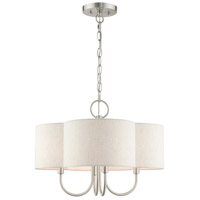 Livex Lighting Steel Solstice Chandeliers