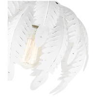 Livex 46231-60 Acanthus 1 Light 13 inch Antique White Semi Flush Ceiling Light alternative photo thumbnail