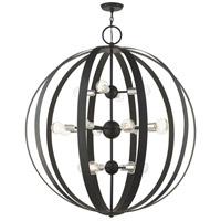 Livex 46418-04 Modesto 16 Light 42 inch Black Foyer Chandelier Ceiling Light