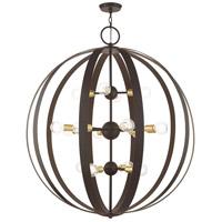 Livex Lighting 46418-07 Modesto 16 Light 42 inch Bronze Foyer Chandelier Ceiling Light