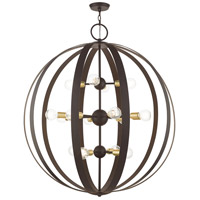 Livex 46418-07 Modesto 16 Light 42 inch Bronze Foyer Chandelier Ceiling Light