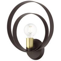 Livex 46422-07 Modesto 1 Light 12 inch Bronze ADA Single Sconce Wall Light