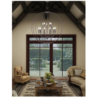 Livex Lighting Milania 15 Light Foyer Chandelier in Bronze 46690-07