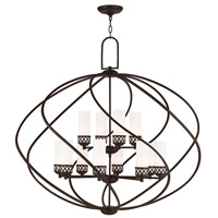 Livex Westfield 12 Light Foyer Chandelier in Olde Bronze 47199-67