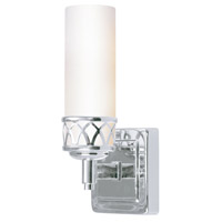 Livex Lighting Westfield 1 Light Bath Light in Chrome 4721-05 photo thumbnail