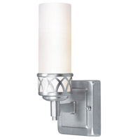 Livex Lighting Westfield 1 Light Bath Light in Brushed Nickel 4721-91