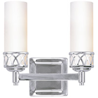 Livex Lighting Westfield 2 Light Bath Light in Chrome 4722-05