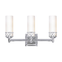 Livex Lighting Westfield 3 Light Bath Light in Chrome 4723-05
