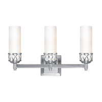 Livex 4723-91 Westfield 3 Light 18 inch Brushed Nickel Bath Light Wall Light