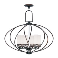 Livex Lighting Westfield 6 Light Chandelier in Olde Bronze 4726-67