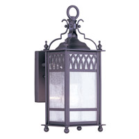 Livex Lighting Westfield 1 Light Outdoor Wall Lantern in Bronze 4741-07